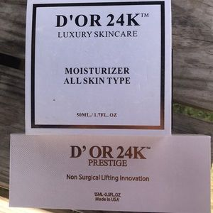 D'or 24k luxury skincare bundle